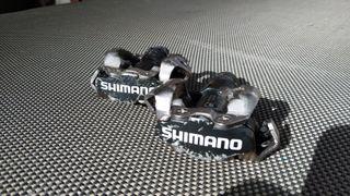 pedales con calas Shimano