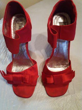 Zapato Sandalia tacón