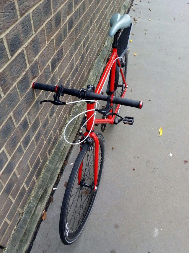 bike + helmet + inflator