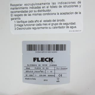 Termo marca Fleck