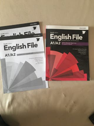 Libro de inglés English File A1/A2