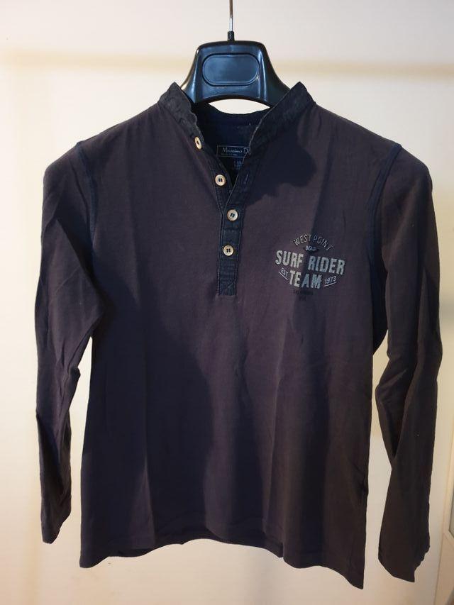camiseta t. 7/8manga larga Massimo Dutti