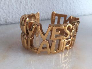 Pulsera Yves Saint Laurent IMPRESIONANTE