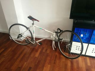 bicicleta de carretera retro peugeot