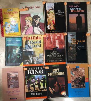 12 libros aprendizaje ingles.