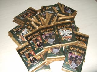 Sobres Harry Potter cromos cards