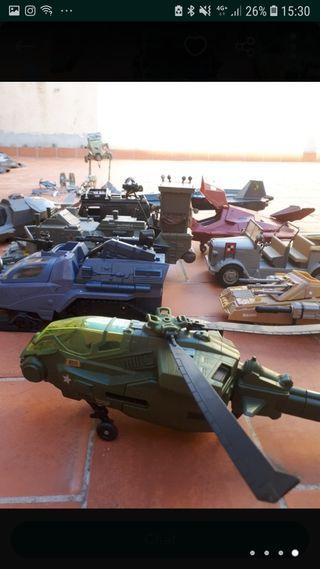 coches de guerra juguete