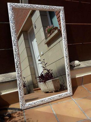 Espejo decorativo 90 x 50 cm