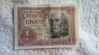 billete 1 peseta