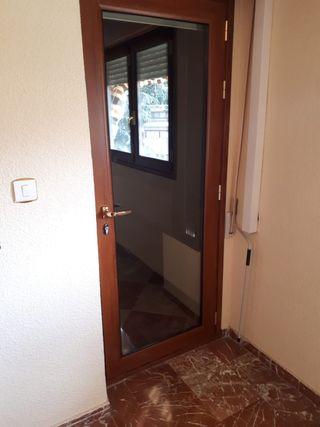 Puerta aluminio climalit