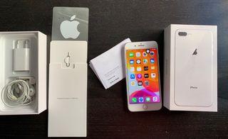 Iphone 8 Plus Plata + Factura Compra
