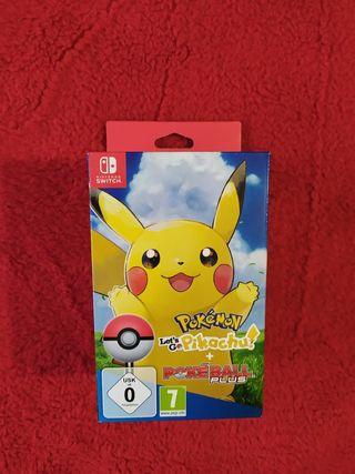 juego let's go pikachu