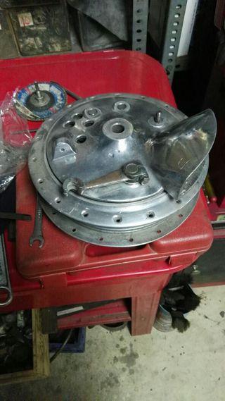 Bultaco tambor delantero Tralla y Metralla 160 mm
