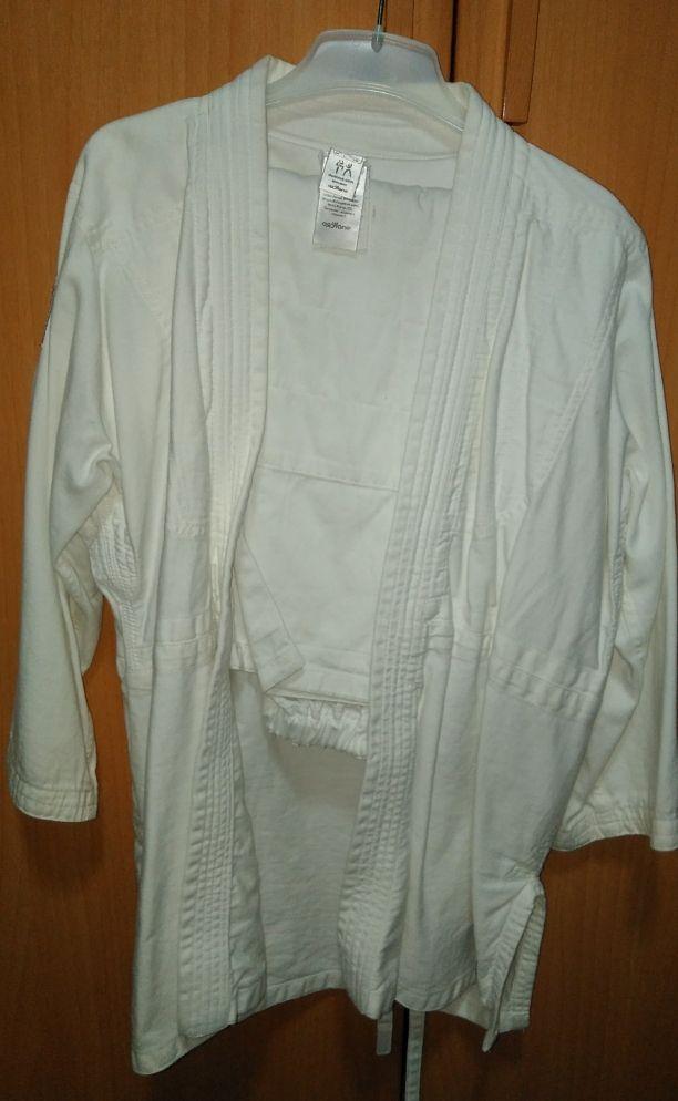 kimono karate y judo.