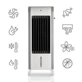 Calefactor Climatizador PORTÁTIL radiador blanco