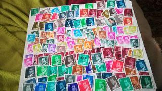 150 sellos de Juan Carlos I, matasellados