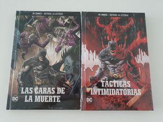 Batman: Caras de la Muerte y Tacticas Intimidator