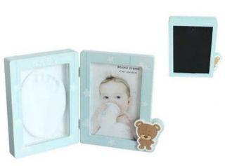 Portafotos huella para bebes