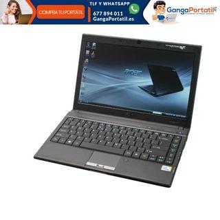 Portátil Acer TM8372, i3 / Web Cam / Dvd / Windows