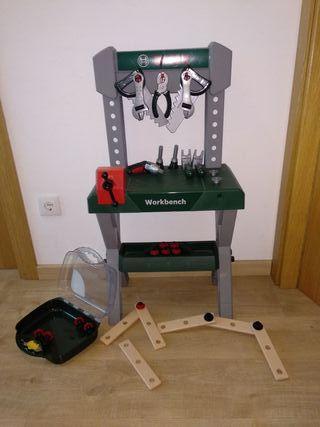 mesa herramientas bosh