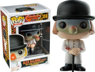 Funko Pop Alex deLarge masked 359