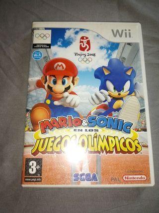 Mario y Sonic en los Juegos Olimpicos Juego wii