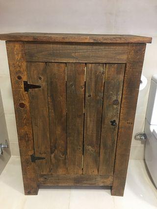 Mueble madera rústico