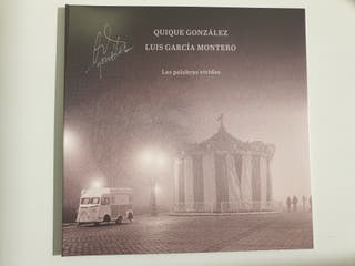 Vinilo Quique González - Nuevo y firmado