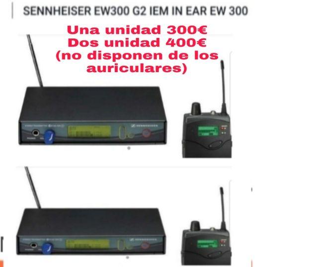 SENNHEISER EM300 G2