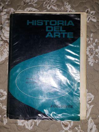 libro de Historia del Arte. Es antiguo