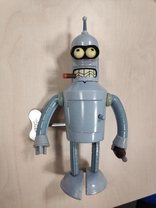 Bender Futurama Figura Metalica a Cuerda