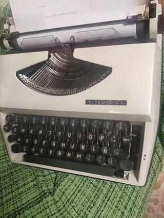 máquina de escribir Tipos ( made in Holland)