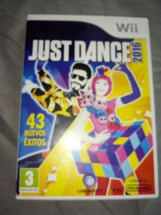 juego. nintendo wii Just Dance 2016