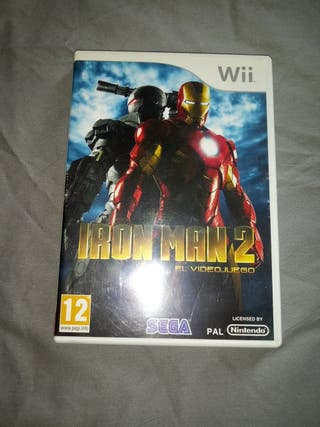 juego para nintendo wii Iron man 2