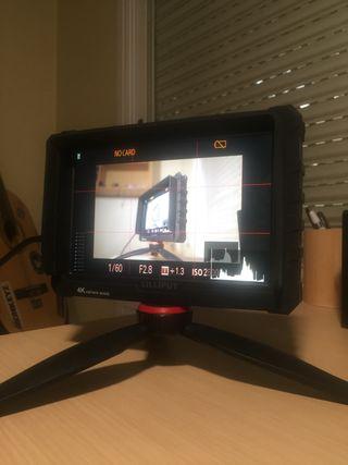 Monitor 4k para Cámaras dsrl