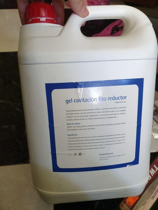 Gel cavitacion fito reductor