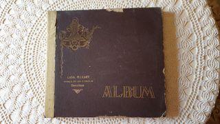 Colección de discos antiguos de pizarra