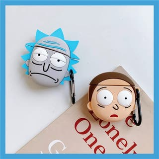Rick y Morty Protector airpods