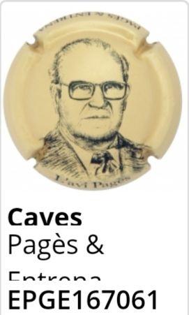 Placa de cava Pages & Entrena