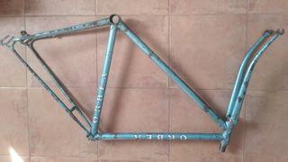 cuadro bicicleta Orbea carretera, fixie