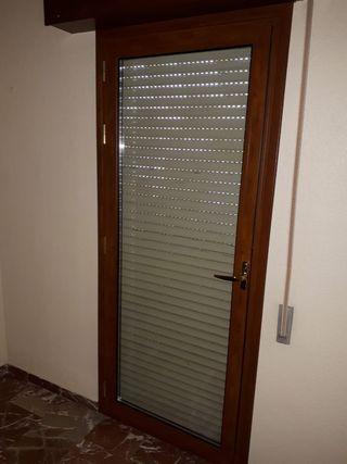 Puerta balcón aluminio climalit