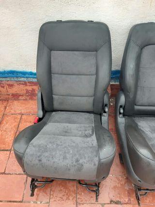 asientos seat Alhambra de cuero