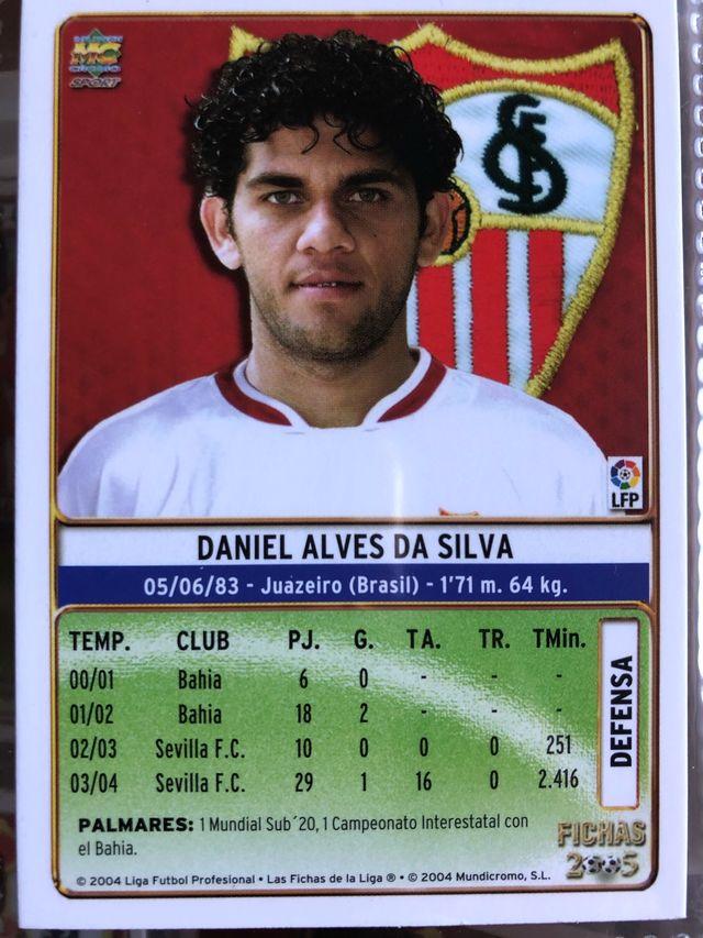 CROMO DANI ALVES (Sevilla 04-05) MUNDICROMO