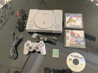 PlayStation 1 + Juegos + Regalos