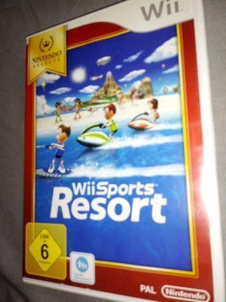 juego wii Sports Resort