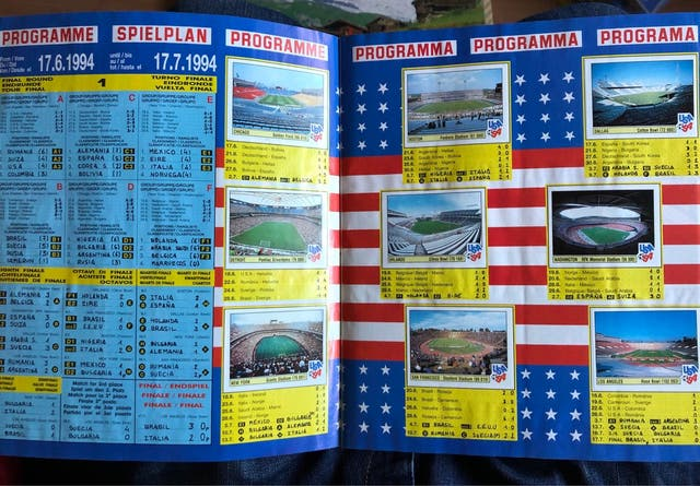 ÁLBUM COMPLETO USA-94