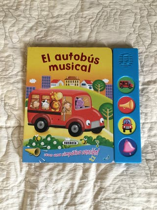 Libro infantil el autobús musical