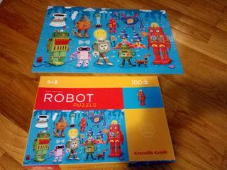 puzzle robot 100 piezas