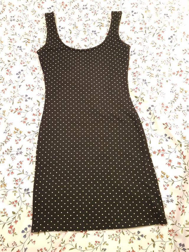 Vestido Lunares Pull and Bear
