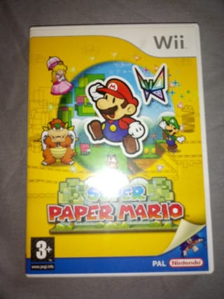 juego Super Paper Mario